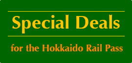 special deals for the hokkaido Rail Pass